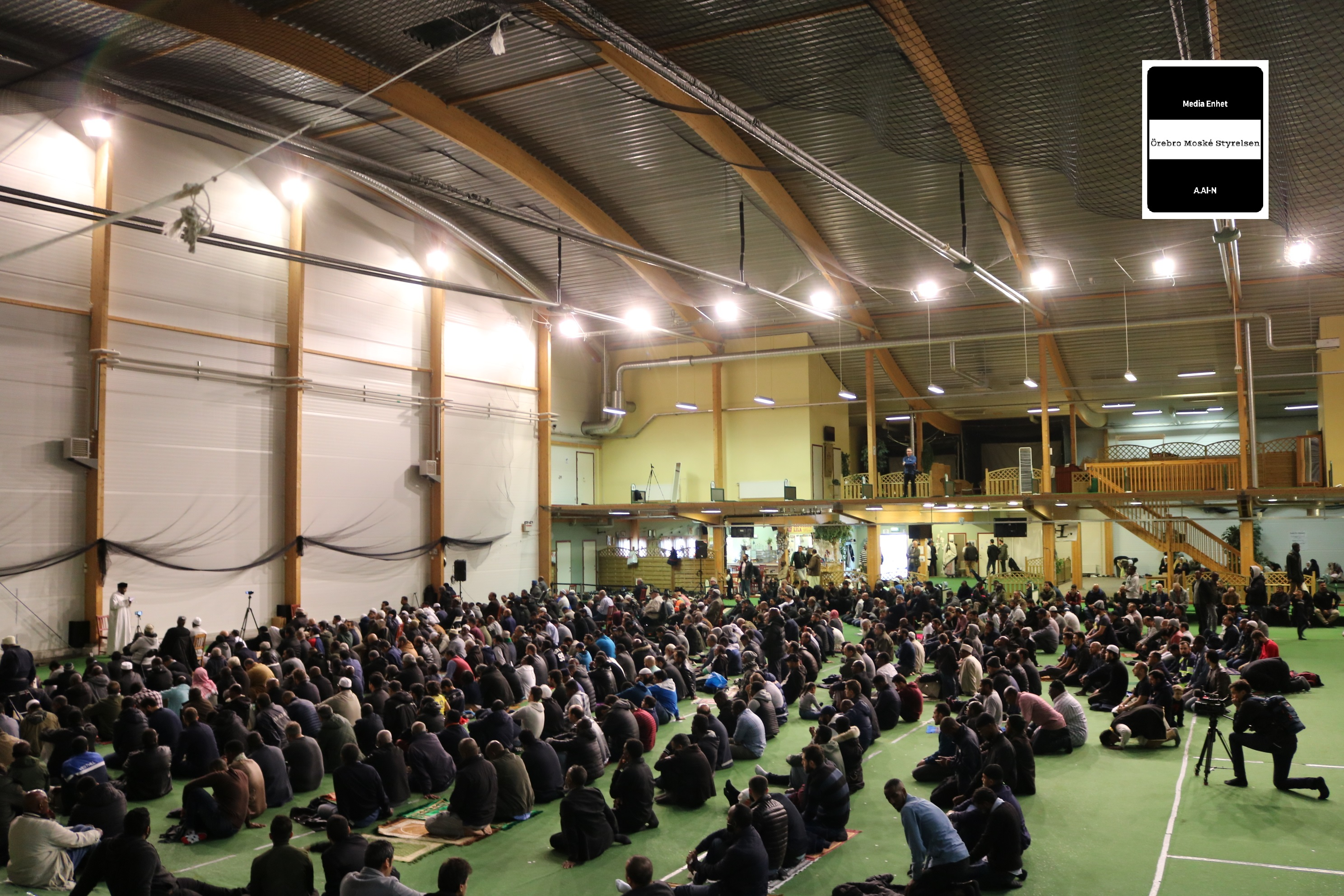 Islam är religionen av fred och kärlek (på Svenska) 29/09/2017 ************************ Shekh Dr. Abdulkarim Al-Ala´am ************************ Friday Prayers - Fredag Bön صلاة الجمعة ***************************** Golfhallen i Örebro