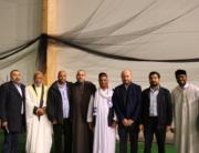 Ord av stödjande gäster i Örebro moskén efter branden