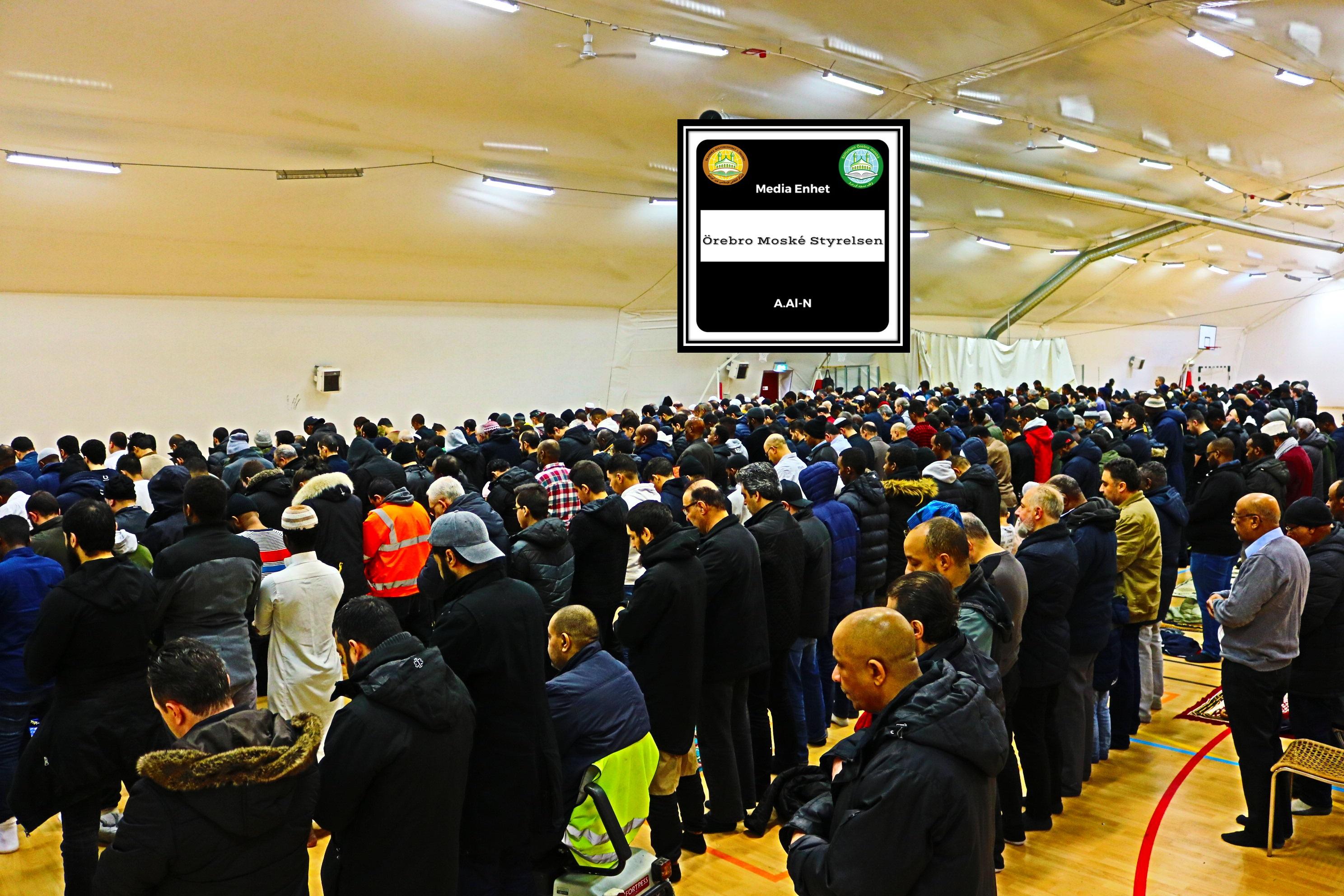 القران عصمة ونجاة Shekh, Dr. Mohammed Salih 19/01/2018 *************************** Friday Bön - Friday Prayers صلاة الجمعة *************************** Ballonghallen i Örebro