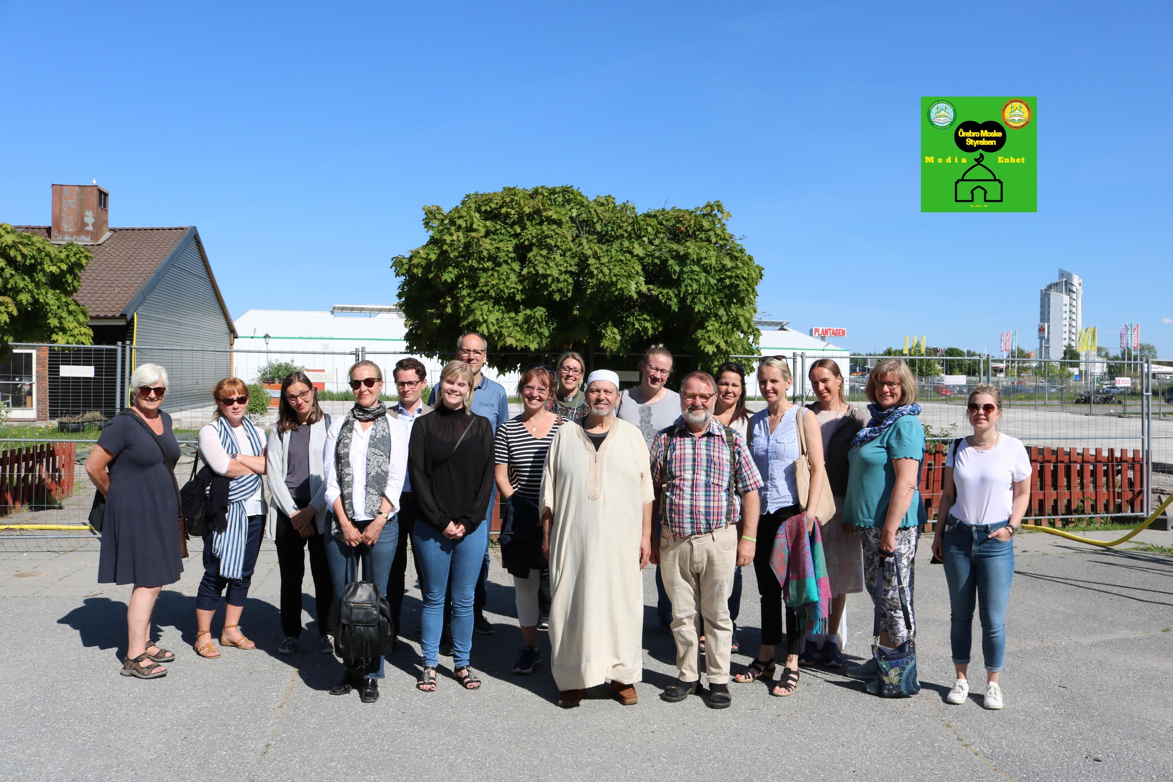 Studiebesök: Svenska kyrkan besök till Örebro Moske 2018-05-20