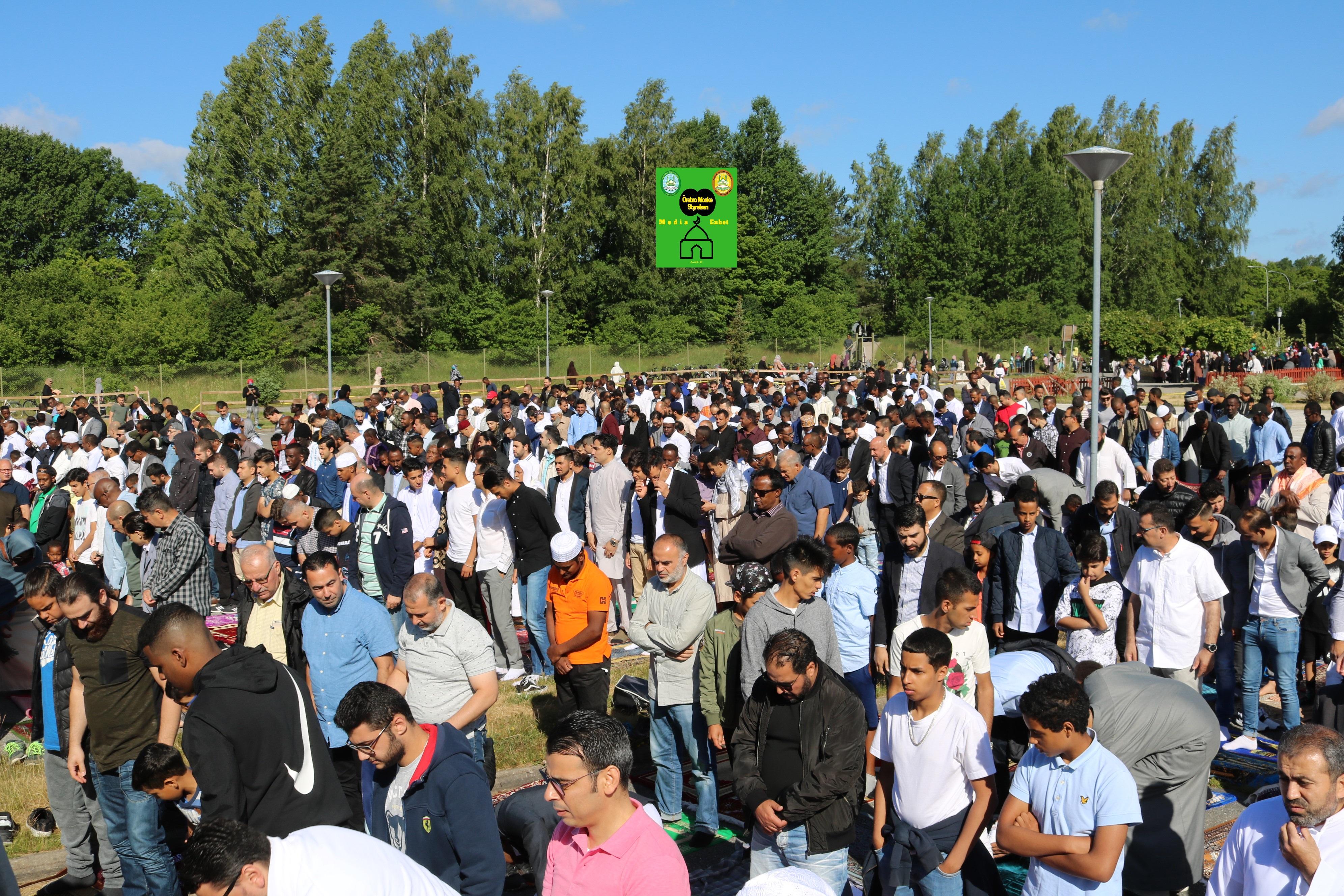 تكبيرات وصلاة وخطبة عيد الفطر - 2018-06-15 ************************* Shikh Abu Husam Hariri ************************************************ Eid Fitr Mubark - عيد فطر مبارك ************************************************ FILMED ON LOCATION ************************* Orebro Mosque - Örebro Moske مسجد اوربرو ************************* Sweden – Sverige – السويد ************************************************ DIRECTED BY ********************************* A.Al-N ********************************* Effected Video (Facebook) ********************************* Örebro moské älskare - Orebro mosque lovers - محبي مسجد اوربرو (Facebook) ************************************************ Effected Video (YouTube) http://www.youtube.com/channel/UCSEb- ibpdTXYFwLsCf8E3Aw ************************************************ Baghdad forever (YouTube) http://www.youtube.com/user/baghdadiforever