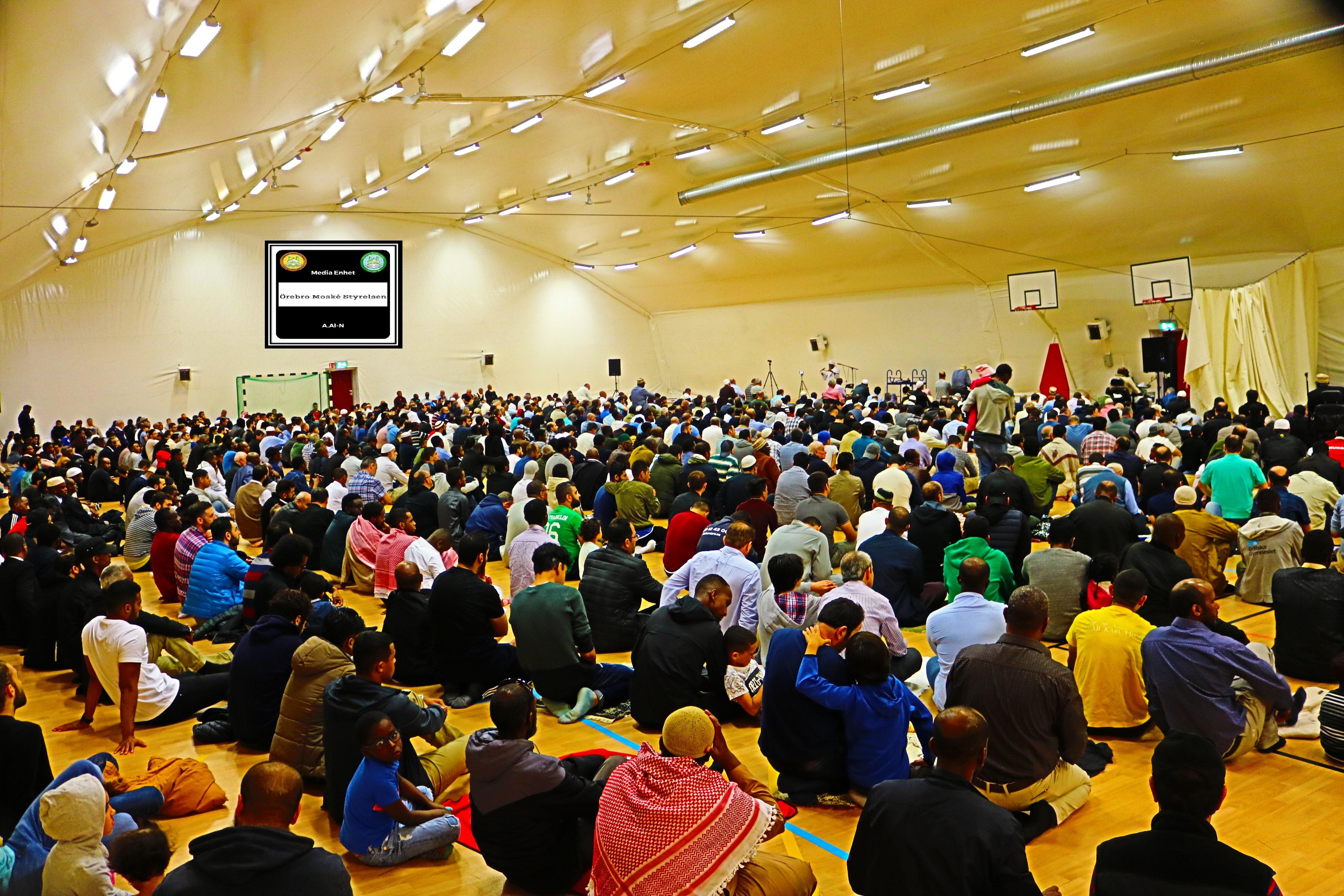 ما بعد رمضان Shekh, Dr. Mohammed Salih 22/06/2018 *************************** Friday Bön - Friday Prayers صلاة الجمعة *************************** Ballonghallen i Örebro