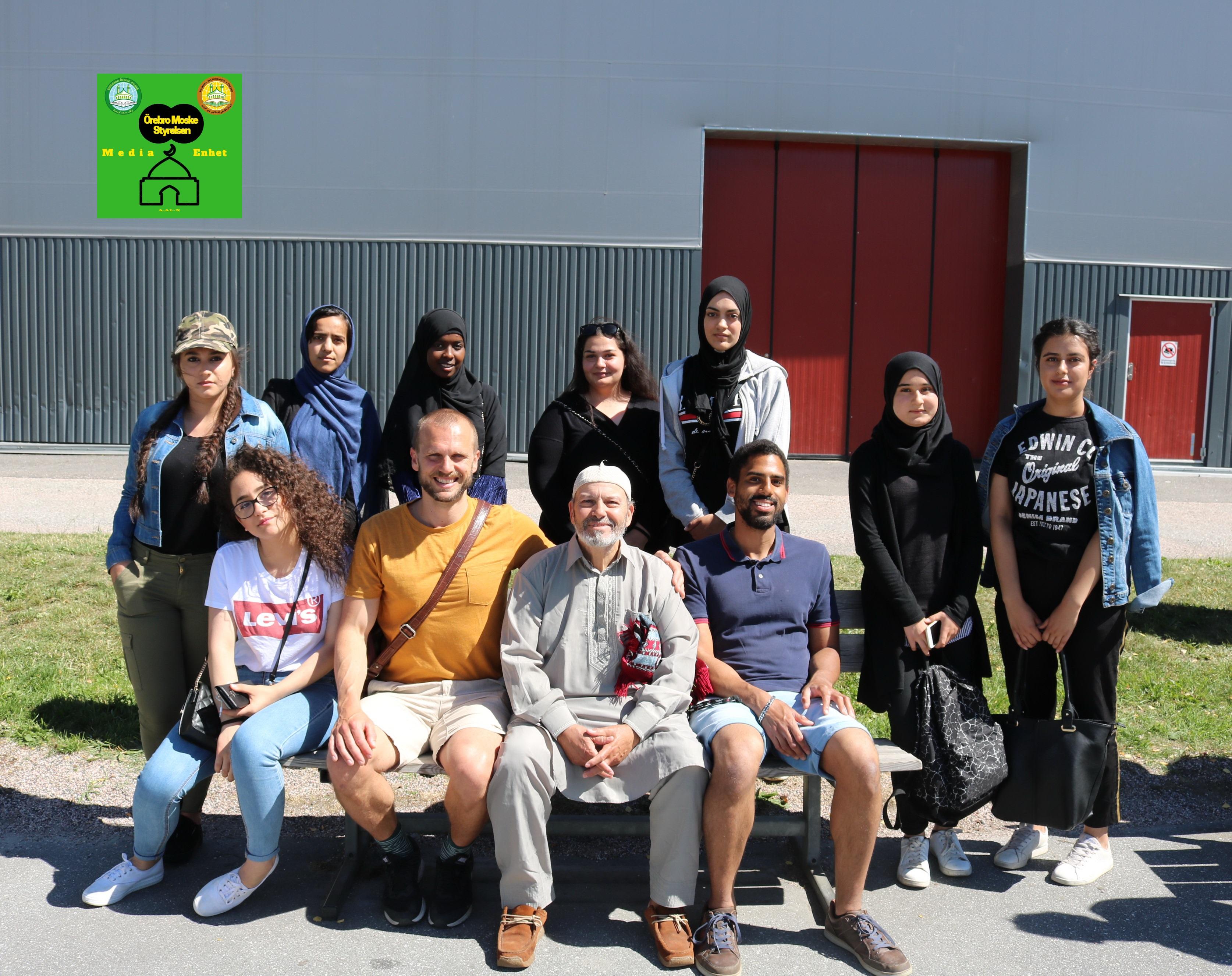 Studiebesök Ungdomar från Tegelbruket i Örebro 2018-06-29