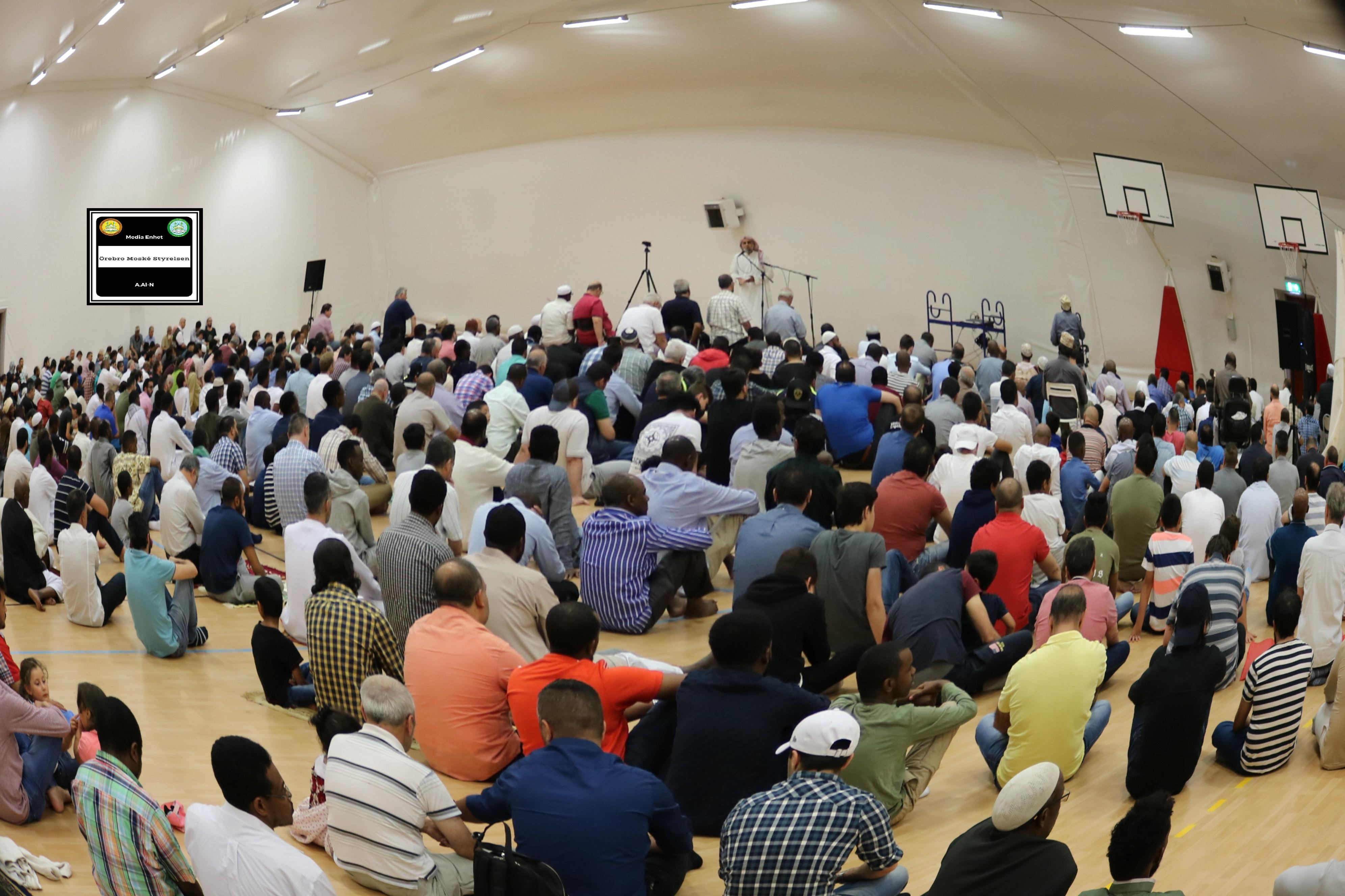 داء الكراهية والبغضاء *************************** 06/07/2018 *************************** Shikh Abu Husam Hariri *************************** Friday Bön - Friday Prayers صلاة الجمعة *************************** FILMED ON LOCATION *************************** Ballonghallen i Örebro