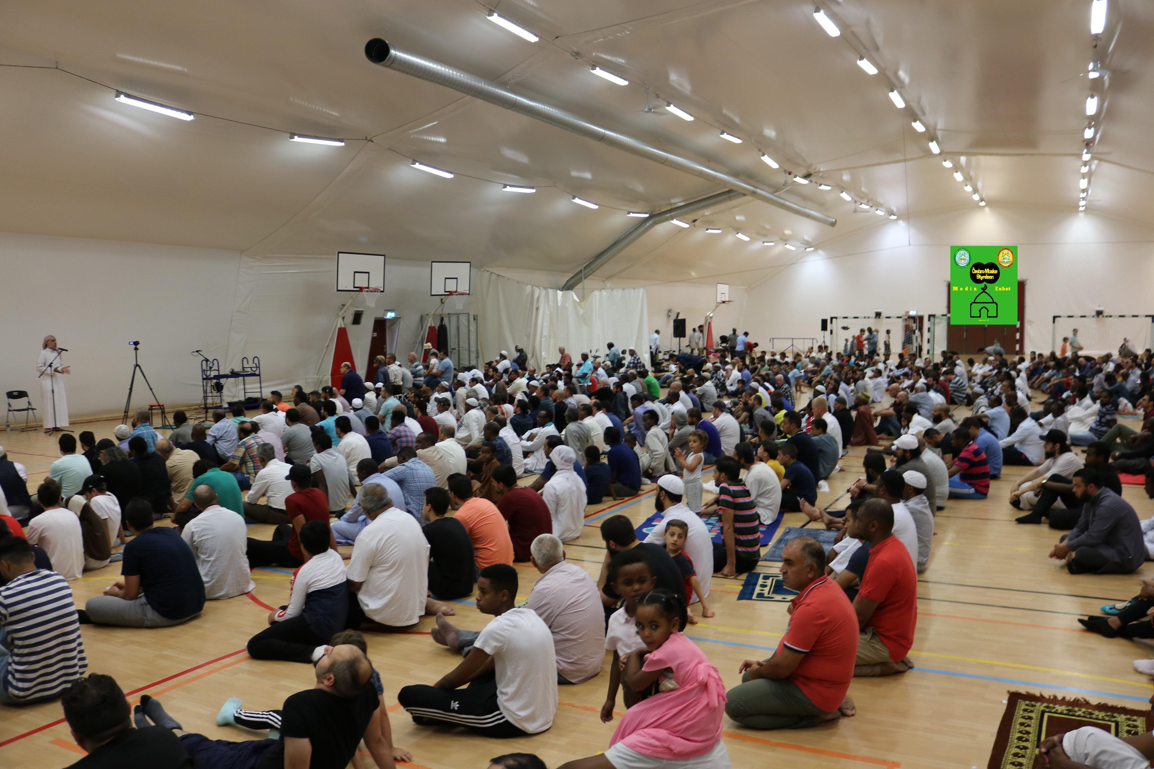 الأشهر الحرم *************************** 20/07/2018 *************************** Shikh Abu Husam Hariri *************************** Friday Bön - Friday Prayers صلاة الجمعة *************************** FILMED ON LOCATION *************************** Ballonghallen i Örebro