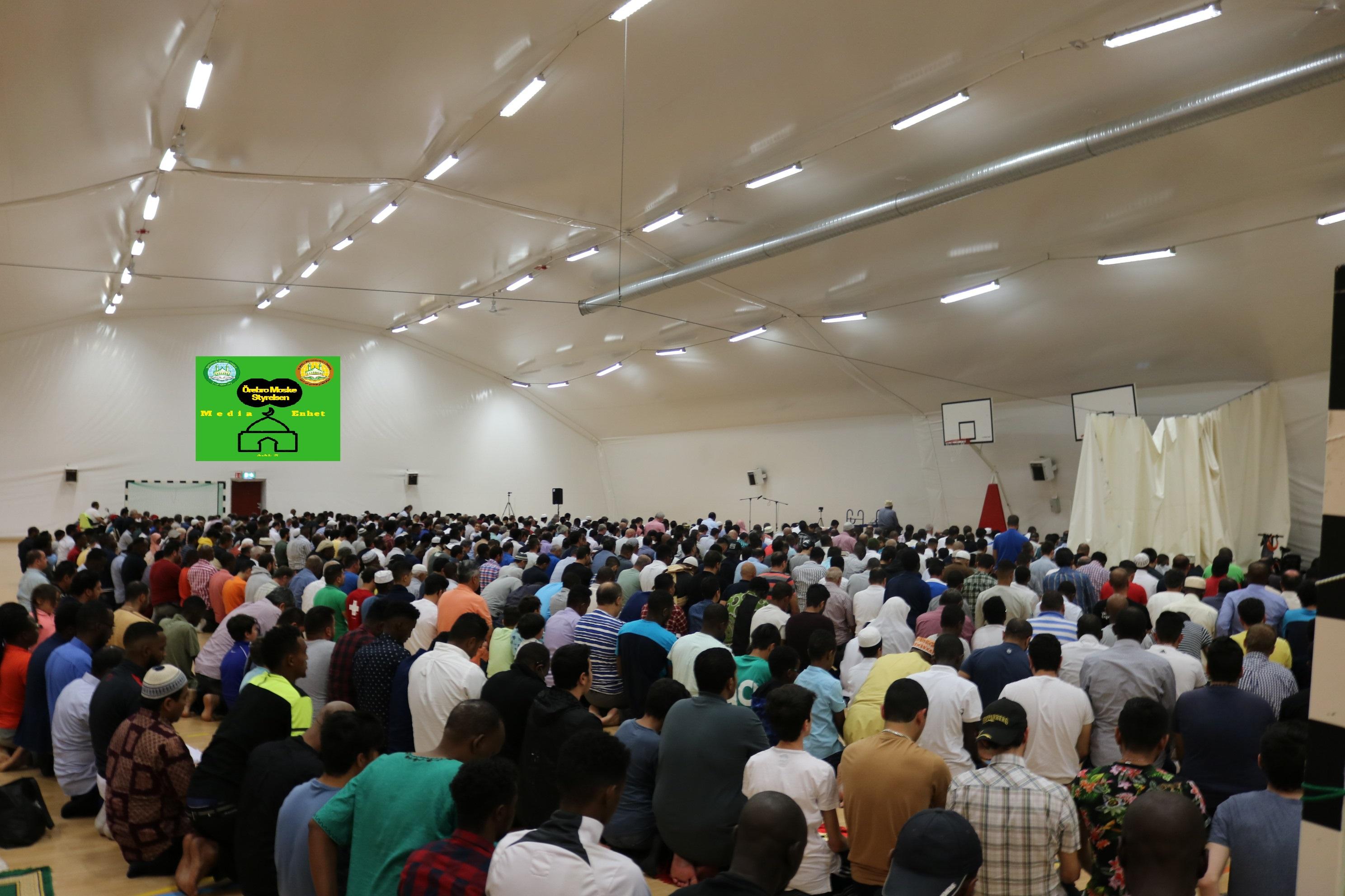 العام ومكانته *************************** 10/08/2018 *************************** Shikh Abu Husam Hariri *************************** Friday Bön - Friday Prayers صلاة الجمعة *************************** FILMED ON LOCATION *************************** Ballonghallen i Örebro