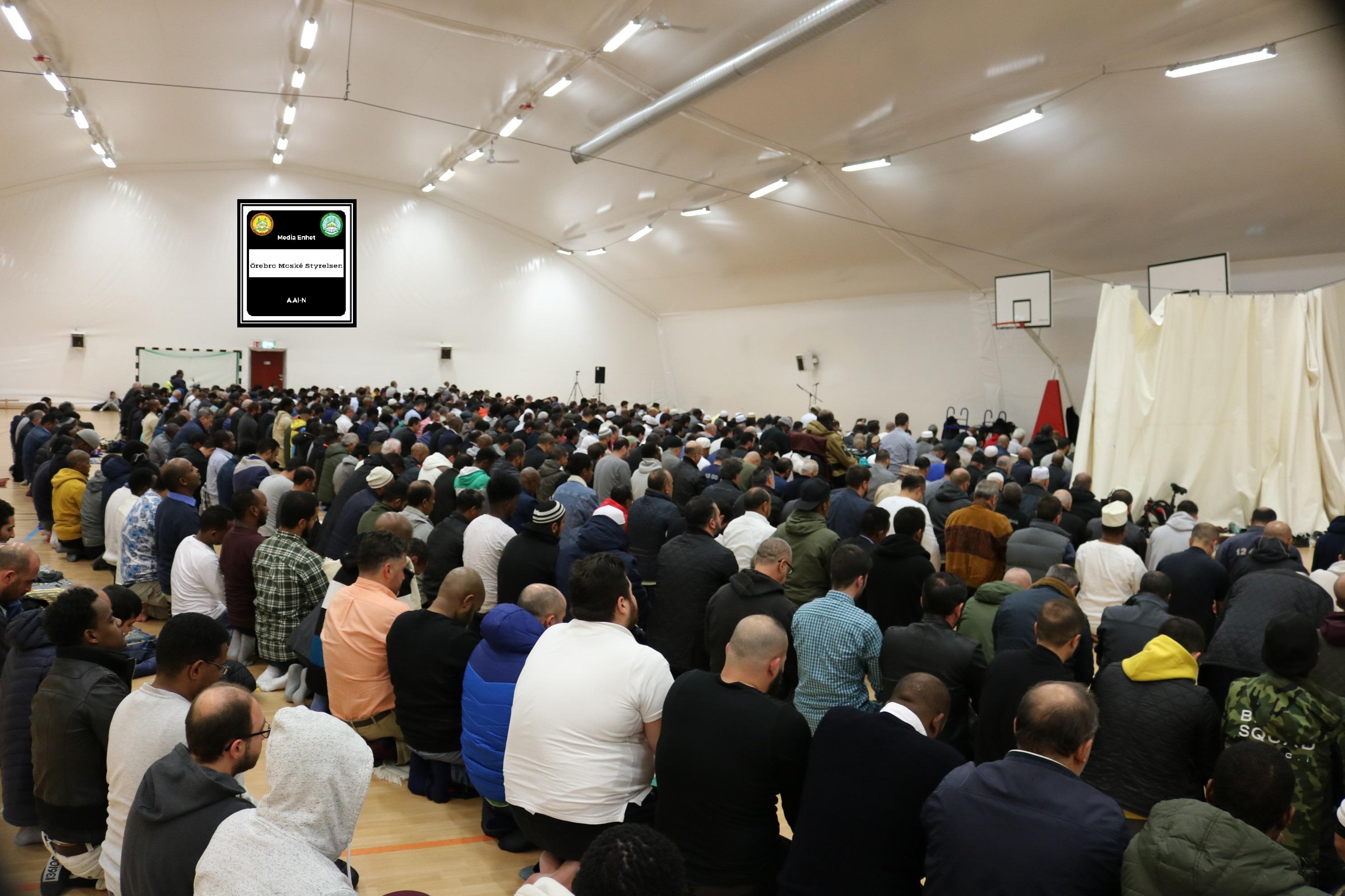 الحكمة ************************** 2018-10-05 ************************** Shikh Abu Husam Hariri ************************** Friday Bön - صلاة الجمعة - Friday Prayers **************************************** FILMED ON LOCATION *************************** Ballonghallen i Örebro