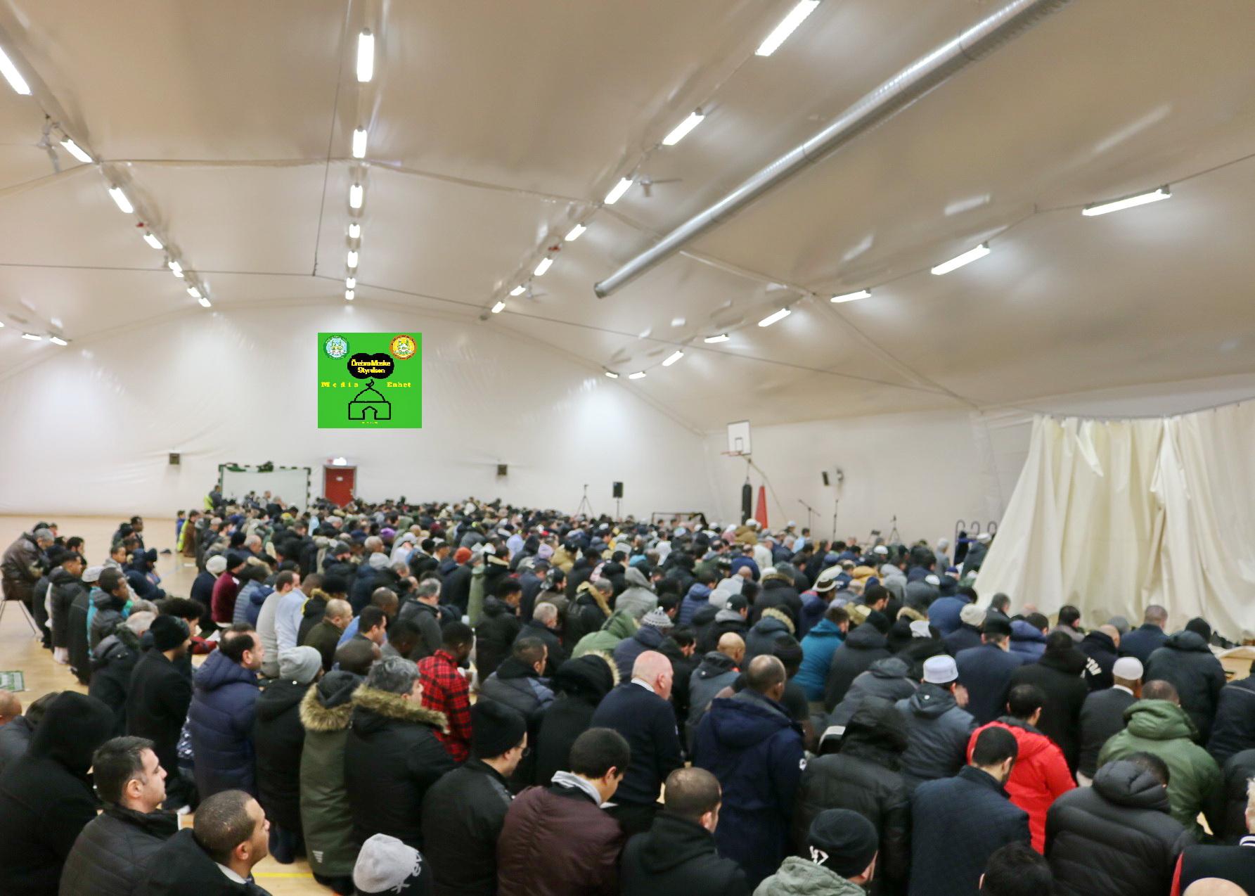 من هم السعداء *************************** 2019-02-08 *************************** Shikh Abu Husam Hariri *************************** Friday Bön - Friday Prayers صلاة الجمعة *************************** FILMED ON LOCATION *************************** Ballonghallen i Örebro