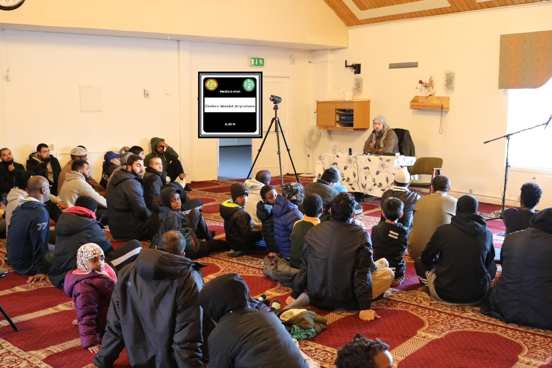 Abdullwadod Al-Swidi Ung i Islam/Råd till Ungdomar 31/03/2019 الشباب في الإسلام/نصائح للشباب *************************** FILMED ON LOCATION ********************************* Orebro Mosque - Örebro Moske - مسجد اوربرو *************************** Sverige - السويد – Sweden *************************** DIRECTED BY ********************************* A.Al-N ********************************* Effected Video (Facebook) ********************************* Irakier i Örebro - Iraqis in Orebro (Facebook) ********************************* Örebro moské älskare - Orebro mosque lovers - محبي مسجد اوربرو (Facebook) ************************************************ Effected Video (YouTube) http://www.youtube.com/channel/UCSEb- ibpdTXYFwLsCf8E3Aw ************************************************ Baghdad forever (YouTube) http://www.youtube.com/user/baghdadiforever