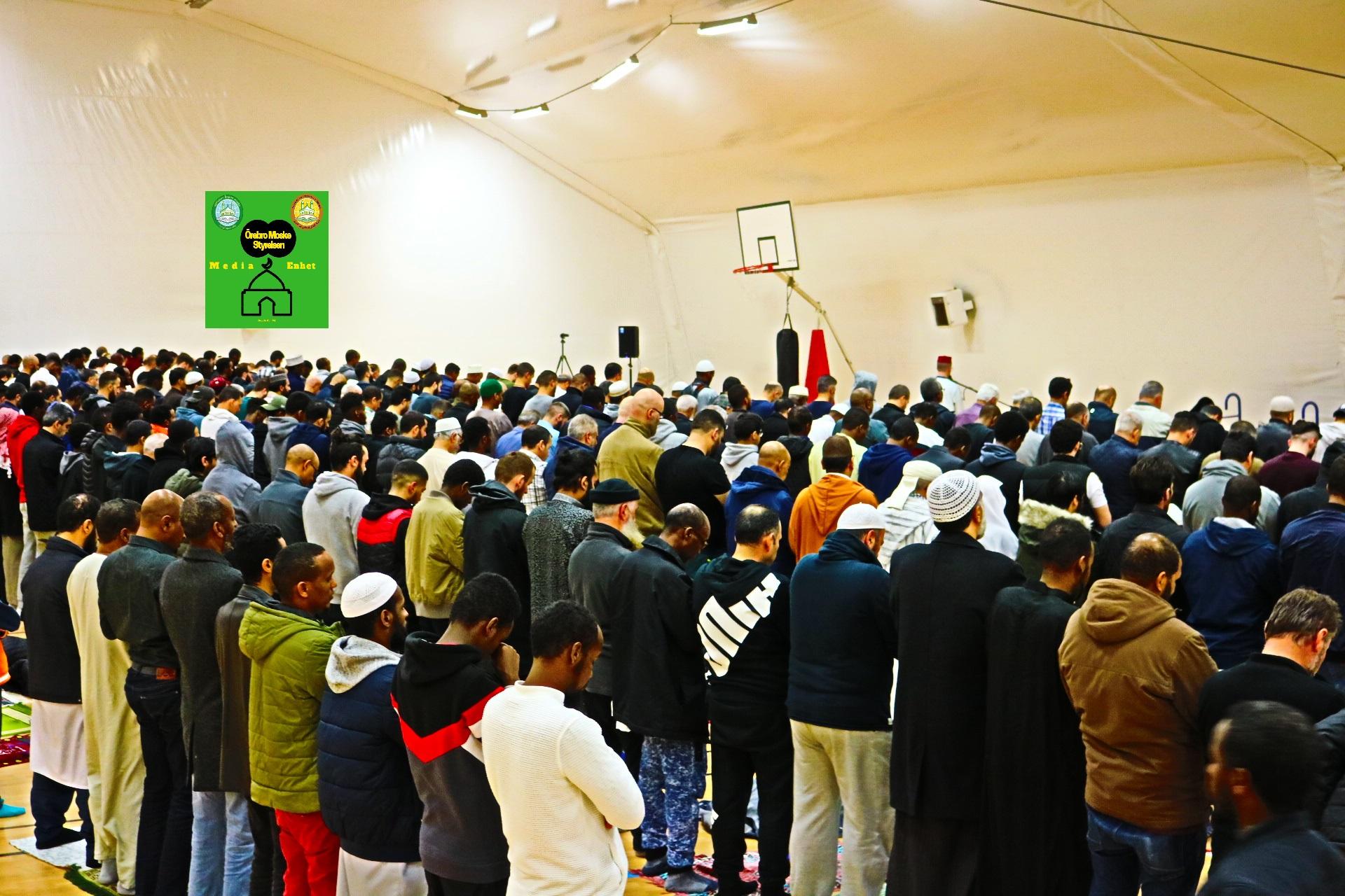 """Ramadan Mubarak ***************************** صلاة العشاء لليوم الرابع والعشرون من شهر رمضان المبارك ***************************** 29/05/2019 *************************** FILMED ON LOCATION *************************** Ballonghallen i Örebro """"En tillfällig plats efter moskén brändes"""" *************************** Sverige - السويد – Sweden *************************** DIRECTED BY ********************************* A.Al-N ********************************* Effected Video (Facebook) ********************************* Irakier i Örebro - Iraqis in Orebro (Facebook) ********************************* Örebro moské älskare - Orebro mosque lovers - محبي مسجد اوربرو (Facebook) ************************************************ Effected Video (YouTube) http://www.youtube.com/channel/UCSEb- ibpdTXYFwLsCf8E3Aw ************************************************ Baghdad forever (YouTube) http://www.youtube.com/user/baghdadiforever"""