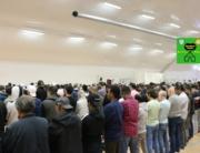 """الهجرة دروس وعبر *************************** Shikh Abu Husam Hariri - 06/09/2019 *************************** Friday Bön - Friday Prayers - صلاة الجمعة *************************** FILMED ON LOCATION *************************** Ballonghallen i Örebro """"En tillfällig plats efter moskén brändes"""" *************************** Sverige - السويد – Sweden ************************************************ DIRECTED BY ********************************* A.Al-N ********************************* Effected Video (Facebook) ********************************* Irakier i Örebro - Iraqis in Orebro (Facebook) ********************************* Örebro moské älskare - Orebro mosque lovers - محبي مسجد اوربرو (Facebook) ************************************************ Effected Video (YouTube) http://www.youtube.com/channel/UCSEb-ibpdTXYFwLsCf8E3Aw ************************************************ Baghdad forever (YouTube)http://www.youtube.com/user/baghdadiforever"""